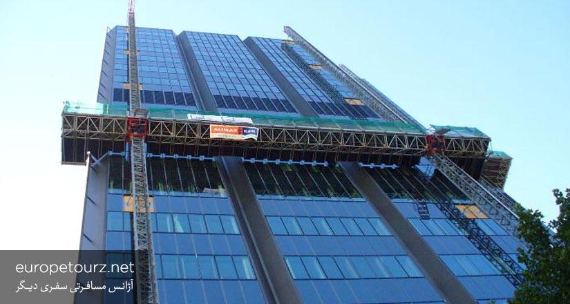 برج دی.آر.وی - ساختمان های دوسلدورف