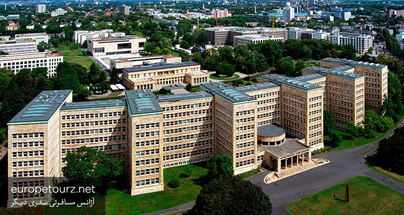 ساختمان ای جی فاربن - دیدنی های فرانکفورت