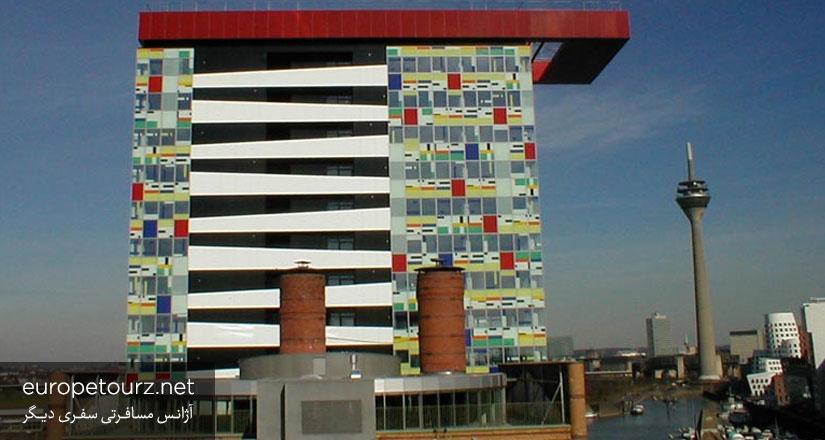 کلوریوم - ساختمان های دوسلدورف