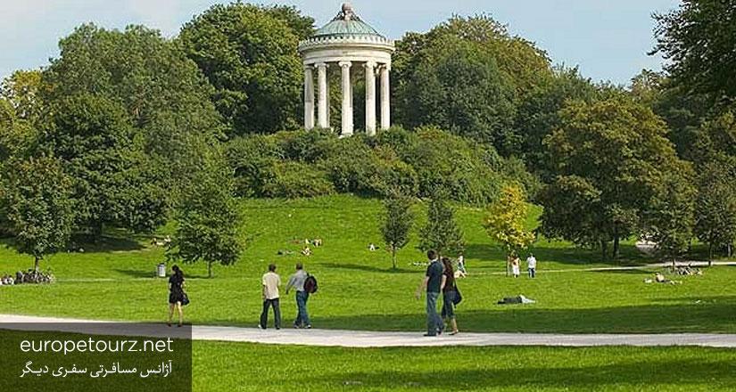 باغ انگلیسی - پارک های مونیخ