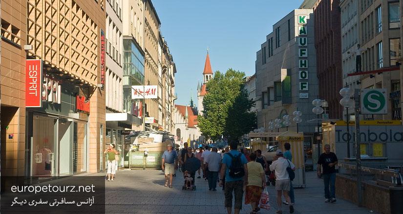 خیابان کافینگر - درباره مونیخ