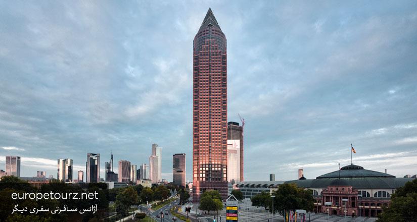 برج نمایشگاه - آسمان خراش ها فرانکفورت