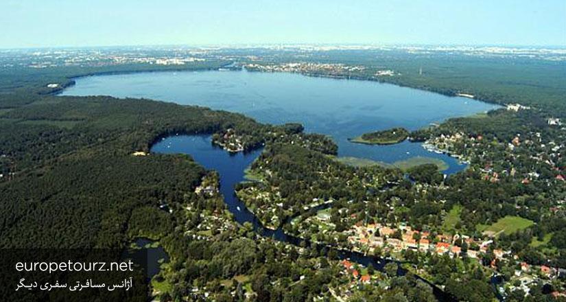 دریاچه ی موگل - پارک ها و مکان های تفریحی برلین
