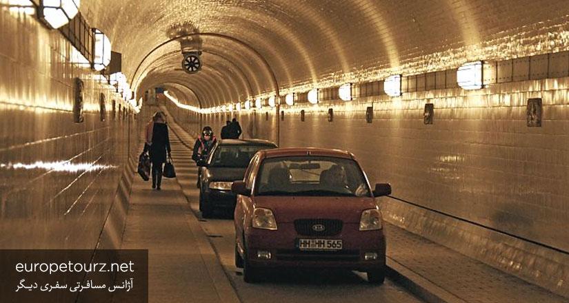 تونل جدید الب - مکان های دیدنی هامبورگ