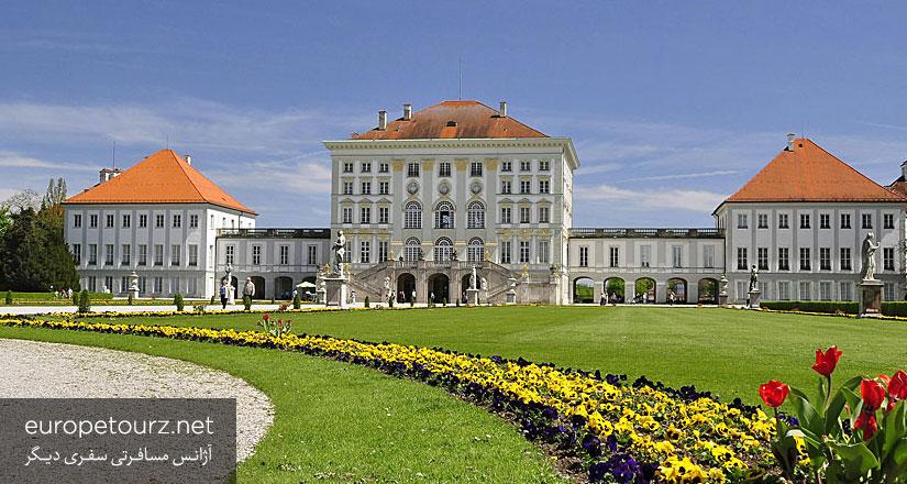 کاخ نیمفنبرگ - کاخ ها، قلعه ها و ساختمان های مهم مونیخ