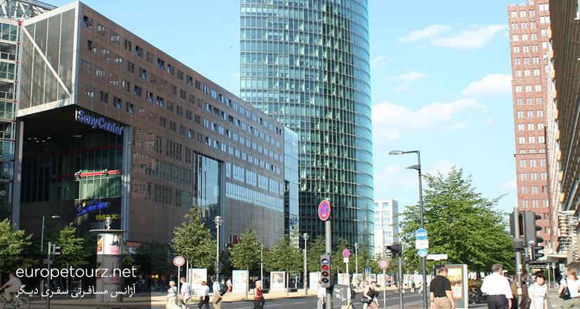 پتسدامر پلاتز - ساختمان های بلند برلین