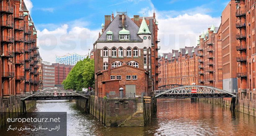 اشپایشراشتات - مکان های دیدنی هامبورگ