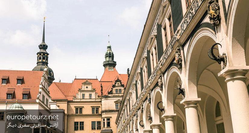 اشتال هوف - ساختمان های دوسلدورف