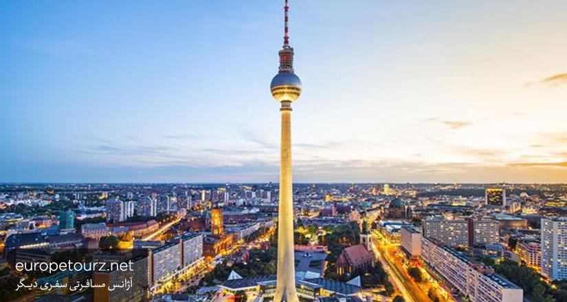 برج تلوزیون - دیدنی های برلین
