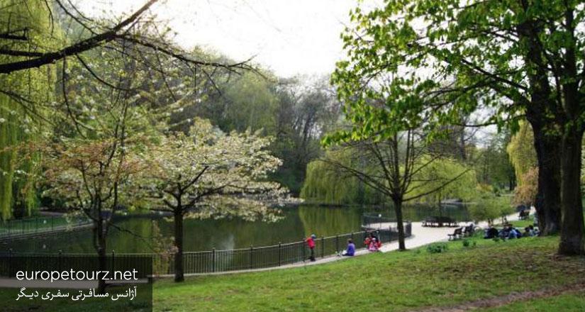 فولکسی پارک - پارک ها و مکان های تفریحی برلین