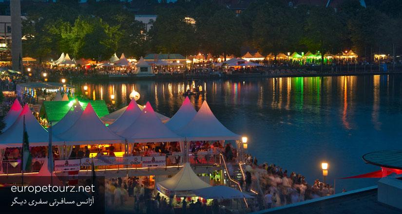 جشنواره ی دریاچه ی ماشزه - جشنواره های هانوفر
