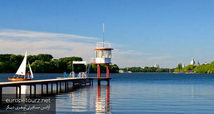 دریاچه ی ماشزه - مکان های دیدنی هانوفر