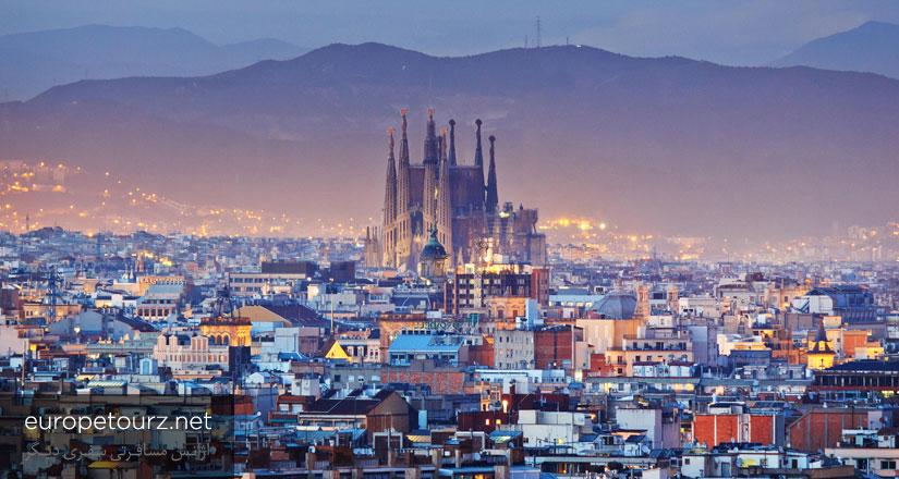 موقیعیت جغرافیایی اسپانیا - درباره اسپانیا