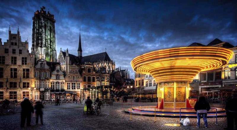 آب وهوای بلژیک