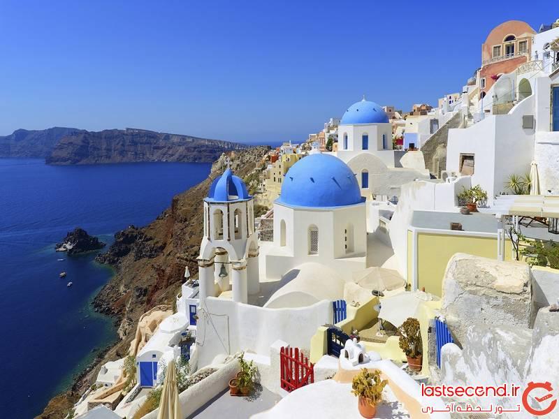 بهترین زمان سفر به یونان