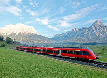 رزرو بلیط قطار اروپا
