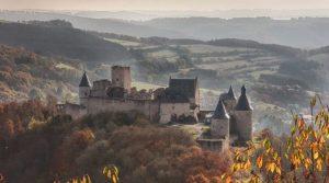 جایگاه گیوم دوم و قلعه بورشاید