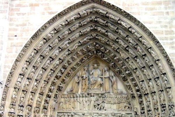 تاریخچه ساخت کلیسای نوتردام