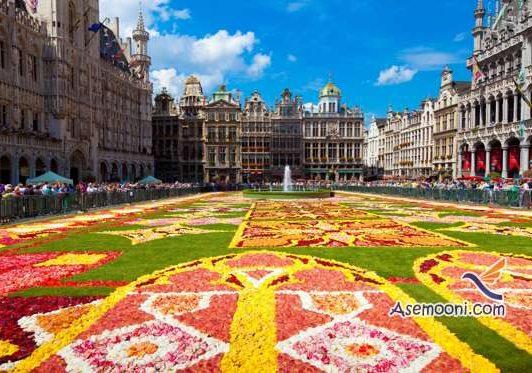 تور بلژیک تابستان