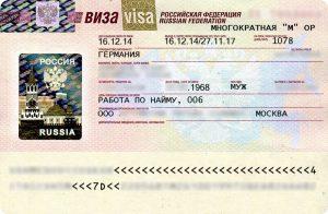 ویزای کاری روسیه