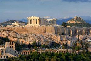معبد آکروپولیس واقع در شهر آتن