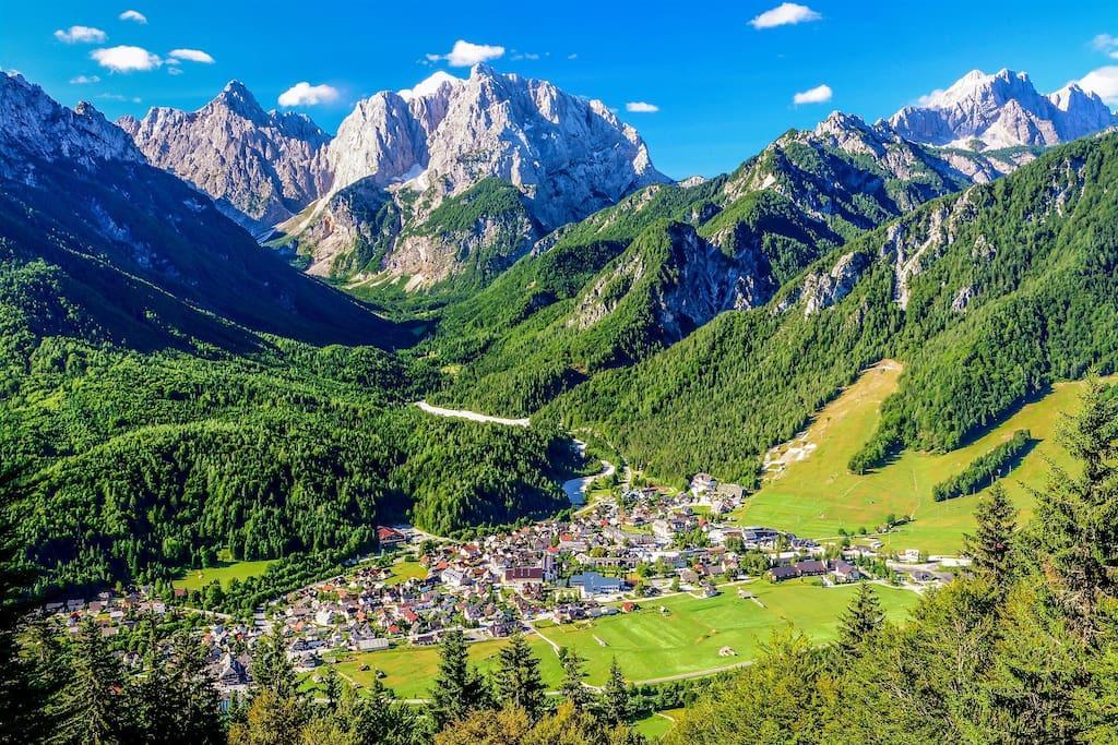 منطقه Kranjska Gora از جاذبه های گردشگری اسلوونی