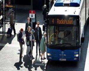 سیستم جا به جایی و حمل و نقل در سفر به سوئد