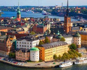 سفر به سوئد و آشنایی با شهر استکهلم