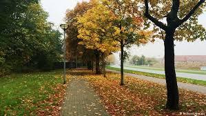 آب و هوای آلمان در پاییز