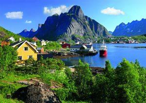 جاذبه ها و شهرهای دیدنی در نروژ