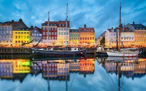 آب و هوای شهر کپنهاگ