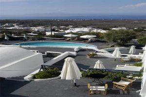 هتل های سانتورینی