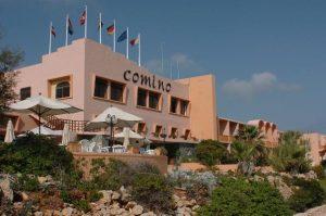 Comino Hotel از هتل های کشور مالت