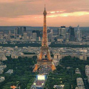تور پاریس و جاذبه های گردشگری