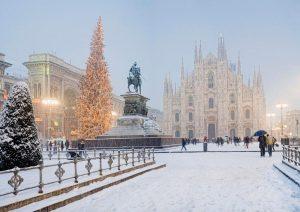 آب و هوای شهر میلان
